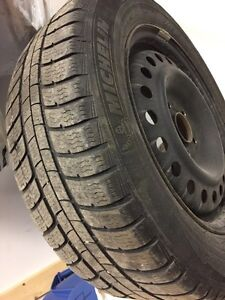 Michelin Alpin Pilot Winter Tires 205/60 R16 w/ Steel Rims $475