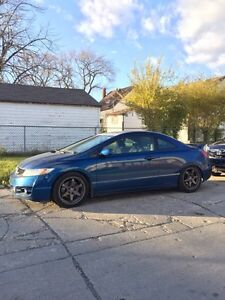 2009 Honda Civic SI, 140kms, fast rims, Coilovers