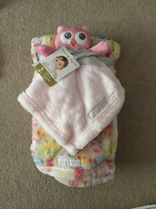 Baby Blanket and Lovey Gift Set
