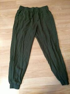 Loose fitting army green Garage pants Kawartha Lakes Peterborough Area image 1