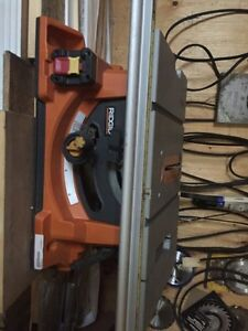 Heavey duty 10 inch portable table saw with stand Kitchener / Waterloo Kitchener Area image 2