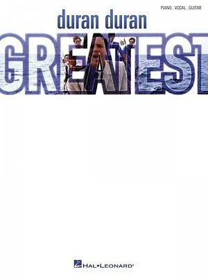 Duran Duran Greatest Sheet Music Piano Vocal Guitar SongBook NEW 000152160