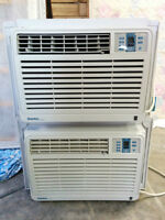 Pair of 12,300 BTU AC's - STEAL OF A DEAL