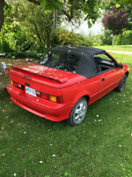 1991 Convertible Firefly w/rebuilt engine only 50 KM!!!
