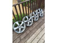 "Honda Civic 16"" inch Alloy Wheels, 5 Spoke, had 205 55 16 tyres. Maybe use for winter tyres??"