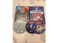Disney Princesses DVDs