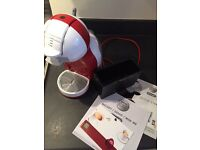 Dolce gusto red coffee pod machine