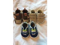 Baby boy newborn shoes.