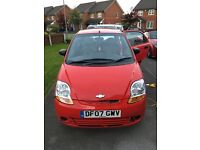 FOR SALE CHEVROLET MATIZ 07 PLATE