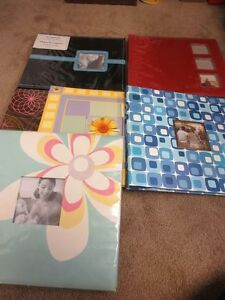 Lot of 6 Scrapbooks 12x12 size. Never used!