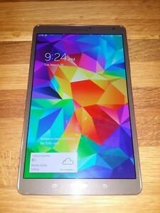 "Samsung Galaxy Tab S LTE - 8.4"" Bell Tablet - New Condition"
