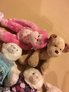2 build a bears and lots of clothes !! 60$obo Cambridge Kitchener Area image 1