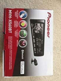 Pioneer much-x560bt car stereo