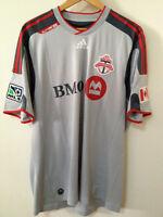 NWOT Toronto TFC Soccer Jersey Size XL Adidas Grey RARE
