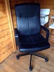 Executive Office Chair - Black