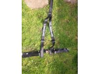2x Securon 3 point harnesses