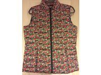 Cath Kidston Size Medium Floral Gillet