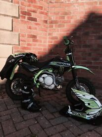 YCF- 50A limited monster edition kids bike