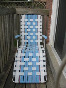 Loungchair / Canvas Chair