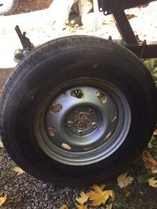 "15"" 5x4.75"" spare tire-never used!"