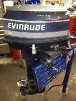 MERCURY JOHNSON EVINRUDE 25 HP and 35 HP WITH REMOTE AND KEY Wat