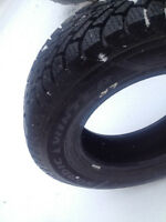 Set of 4, Barely-Used Goodyear Nordic Winter Tires
