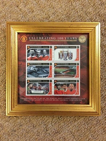 fa3296ed4 Manchester United Stamp Collection