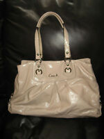 AUTHENTIC PATENT LEATHER COACH PURSE