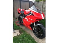 Ducati 848 corse peformance, road legal track bike, px??