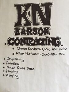 Karson contracting Regina Regina Area image 1