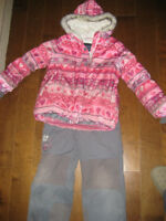 Souris Mini snowsuit, size 6.  Very cute and warm.