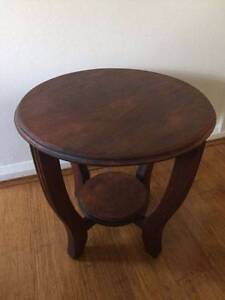 Handmade Vintage Solid Rosewood Timber Side Table Potts Point Inner Sydney Preview