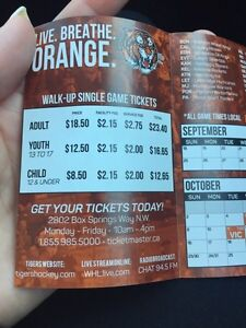 4 tiger tickets for Friday