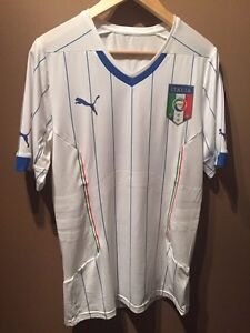 Italy soccer away jersey 2014 WC - XL & M