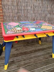Football and games table