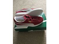 Brand new in box Puma Suede Classic Red UK8
