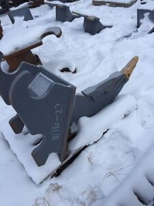 Excavator frost ripper shank. WBM sizes 120 to 160