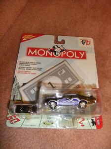 Johnny Lightning, Monopoly, Die Cast Player Cars
