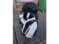 Powakaddy 16 divider golf bag used £60