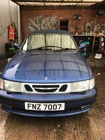 Saab 9-3 SE T2.0 (blue) 2000