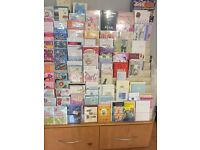 Cand Stand with approx 150-200 high quality cards