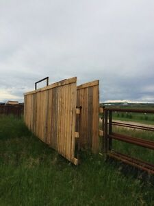 Corral panels windbreakers with gate  Strathcona County Edmonton Area image 4