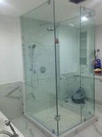 Frameless Shower Glass Doors Enclosures bathtubs - Mirrors etc.