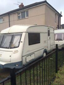 Abi prestige 420/2 touring caravan
