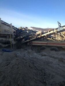 For  Rent Two Deck Inclined Screening Plant