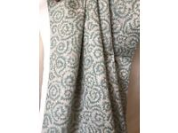 Bay window long curtains fully lined excellent condition- Bargain!