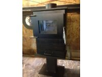Wood burning stove log burner