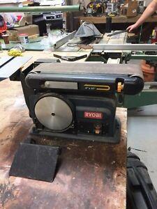 """4x32 belt sander with 6"""" disk"""