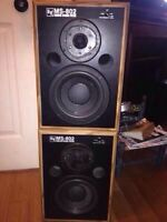 Vintage Electro-voice Speakers MS-802 Great condition