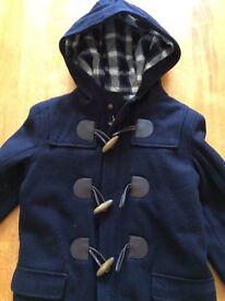 Crew Clothing boys duffle coat age 6